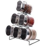 6 Piece Spice Set With Rack