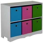 Storage Shelf with 6 Bins