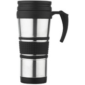 Travel Mug S/S Rubber Grip Wholesale Bulk