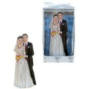 Wedding Couple Poly Figurine
