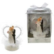 Wedding Couple Cake Topper Poly Resin