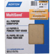 9 X 11&quot; Very Fine Sandpaper &quot;Pkg Of 25&quot;