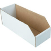 4-1/2 X 12&quot; Cardboard Bin Box&quot;Package Of 25&quot;