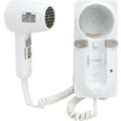 Jerdon 1600W Wallmount Hair Dryer-Whiteite