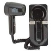 Jerdon 1600W Wallmount Hair Dryer-Black