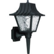 Polypropylene Porch Fixture- Black
