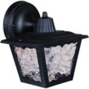 Black Polypropylene Porch Lantern