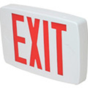 Red LED Battery Backup Exit Sign