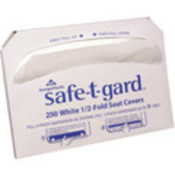 Safe-T-Gard&amp;trade; 1/2-Fold Toilet Seatcovers