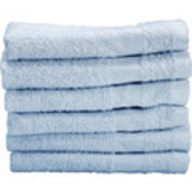"Washcloth 12X12 1 Lb Blue ""25 Dz/Cs"""