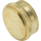 "Brass Hose End Cap ""Pkg Of 10"""