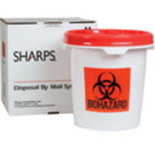 5 Gal Mail Away Biohazardous Waste Pail