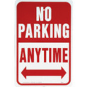 "Aluminum ""No Parking Any Time"" Sign"