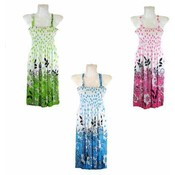 Women's Knee Length Sundresses- Assorted Colors