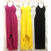 Women's Maxi Dress- Assorted Solid Colors