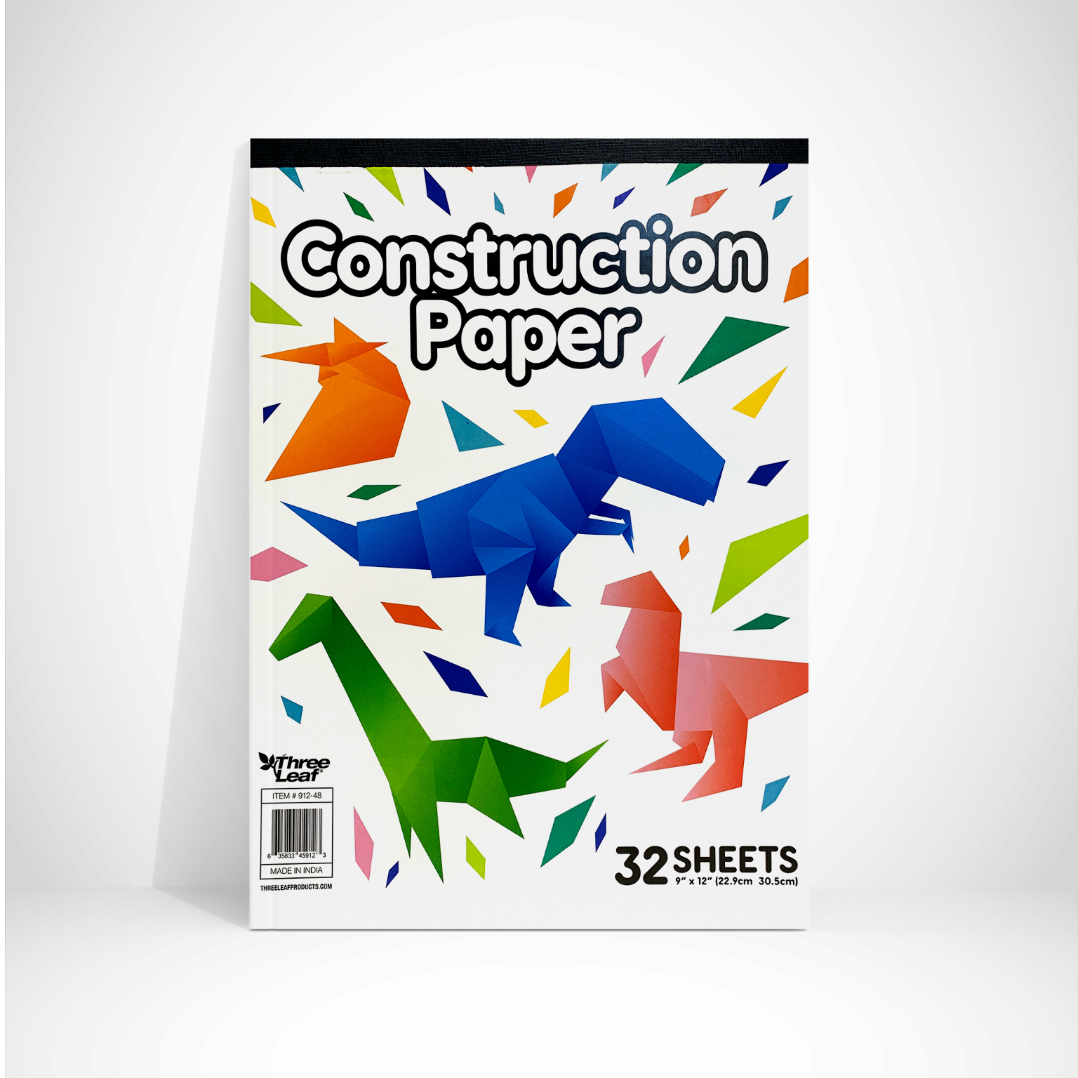 Three Leaf Construction Paper Pad (1878781)