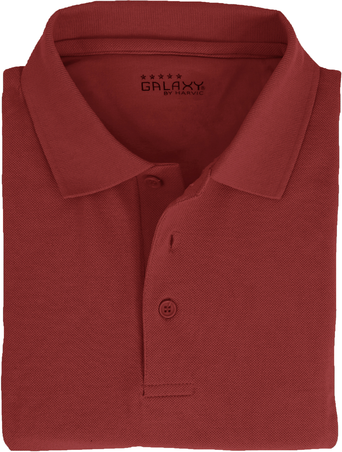 Wholesale Plus Size Adult Short Sleeve Burgundy Polo