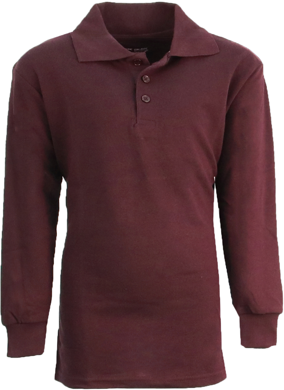 Wholesale boy 39 s burgundy long sleeve pique polo shirts Burgundy polo shirt boys