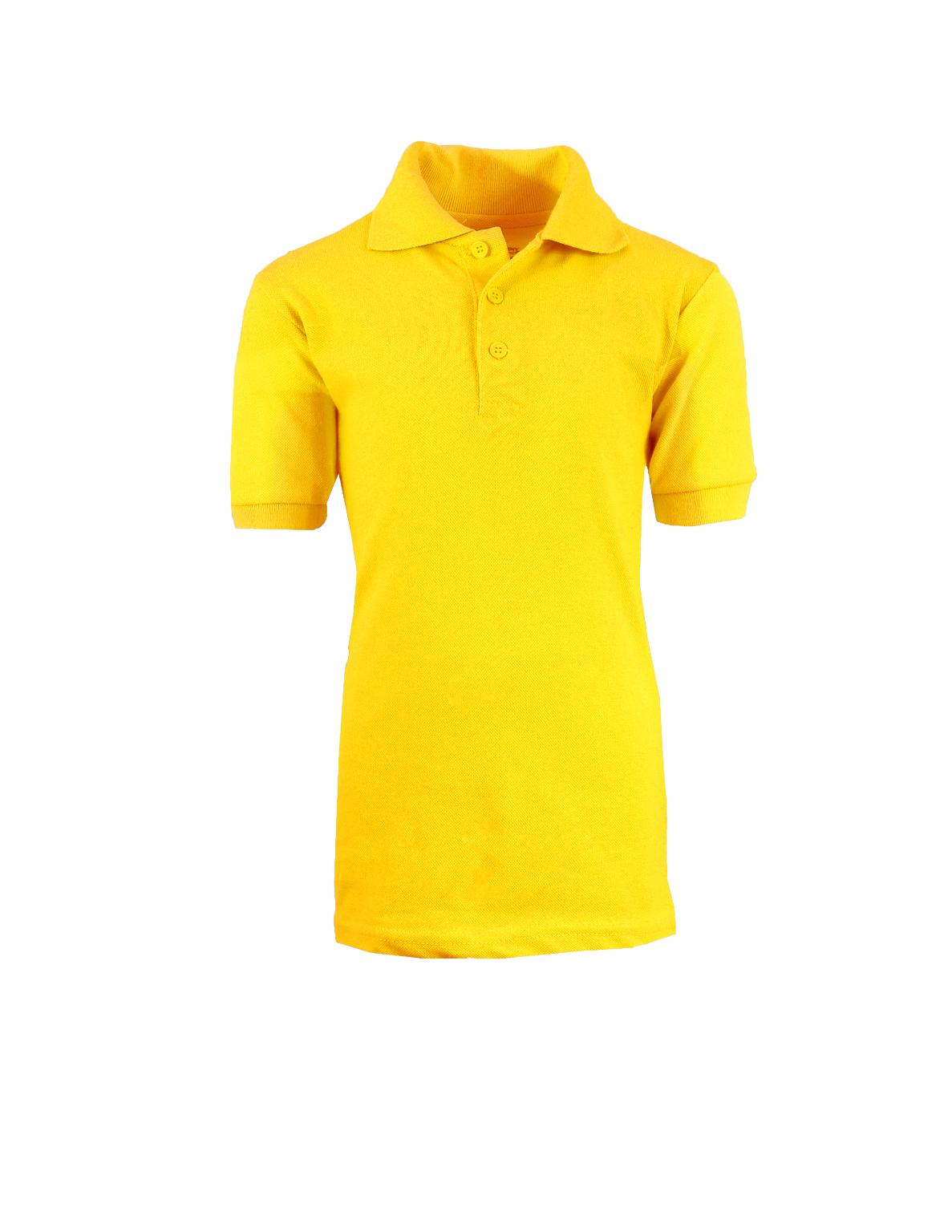 141ba165a Wholesale Boys Gold School Uniform Polo Shirt - Size 4 (SKU 2290383 ...