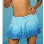 Junior Dip-Dye Fade Gauze 3-Tier Skirt
