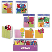 Shaped Mini Notebooks (4Pc)