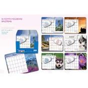 Papercraft 14-Month Mousepad Calendar 2012 Wholesale Bulk