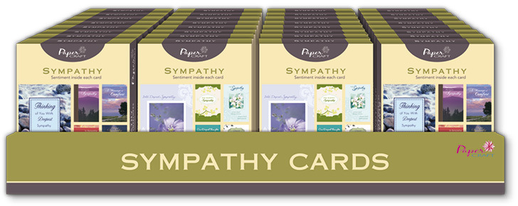 PaperCraft 10 Ct. Boxed GREETING CARDS - Sympathy [1945420]