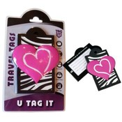 Fashionable Zebra Heart - Luggage Tag Wholesale Bulk