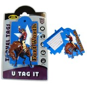 Fort Worth Cowboy Luggage Tag Wholesale Bulk