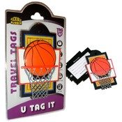 Basketball Sports Bag Tag