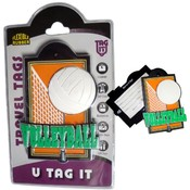Orange Volleyball Bag Tag Wholesale Bulk