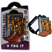 Texas Boots Bag Tag