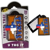 Texas Longhorn Steer - Bag Tag