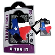Texas State Outline - Bag Tag