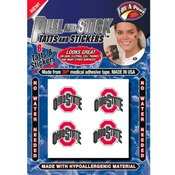 Licensed College Peel & Stick Skin Tattoos 8 Pack