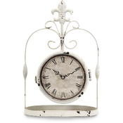 Trinity Double Sided Hanging Clock