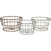 Kristley Metal Basket - Set of 3