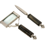 Voyager Magnifying Glass And Letter Opener