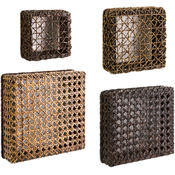 Addel Woven Wall Cubes - Set of 4