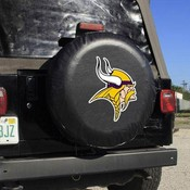 Minnesota Vikings NFL Spare Tire Cover (Black)