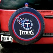 Tennessee Titans NFL Spare Tire Cover (Black)