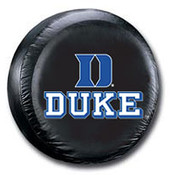 Duke Blue Devils NCAA Spare Tire Cover (Black)