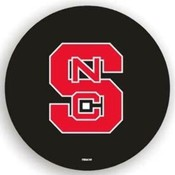 North Carolina State Wolfpack NCAA Spare Tire Cover (Black)