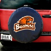 Oregon State Beavers NCAA Spare Tire Cover (Black)