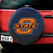 Oklahoma State Cowboys NCAA Spare Tire Cover Black