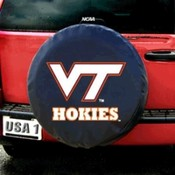 Virginia Tech Hokies NCAA Spare Tire Cover (Black)