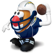 San Diego Chargers NFL Sports-Spuds Mr. Potato Head Toy