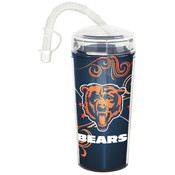 Chicago Bears NFL Double Wall Dombed Tumbler (16oz)