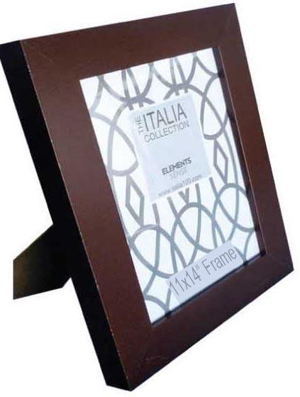 ''Italia 11'''' x 14'''' Espresso Color MDF Picture FRAME Square Molding [1946267]''