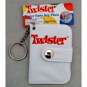 Twister Finger Game Key Ring